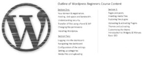 wordpress beginners course outline 03
