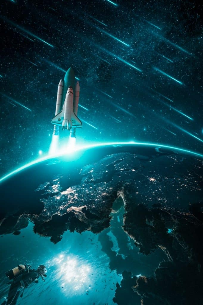 The space shuttle and the skies the limit with SEO