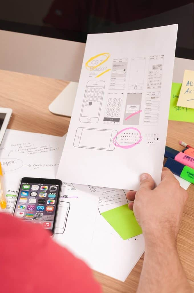 Conducting the planning process for a custom website